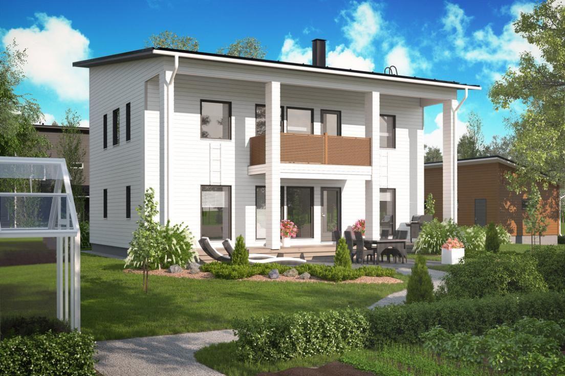 Katso Design-Talo 183 Design Tammisaari ja yli tuhat muuta talomallia Meillä kotonan Talohausta.