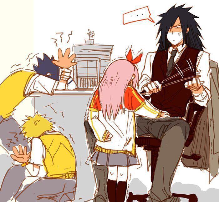 Naruto x Reader series - Teacher!Madara X Student!Reader