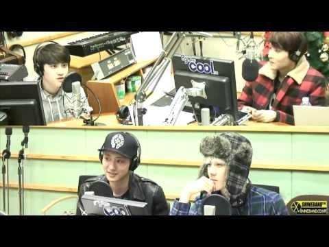 140110 EXO 디오 Live 나윤권 - 기대