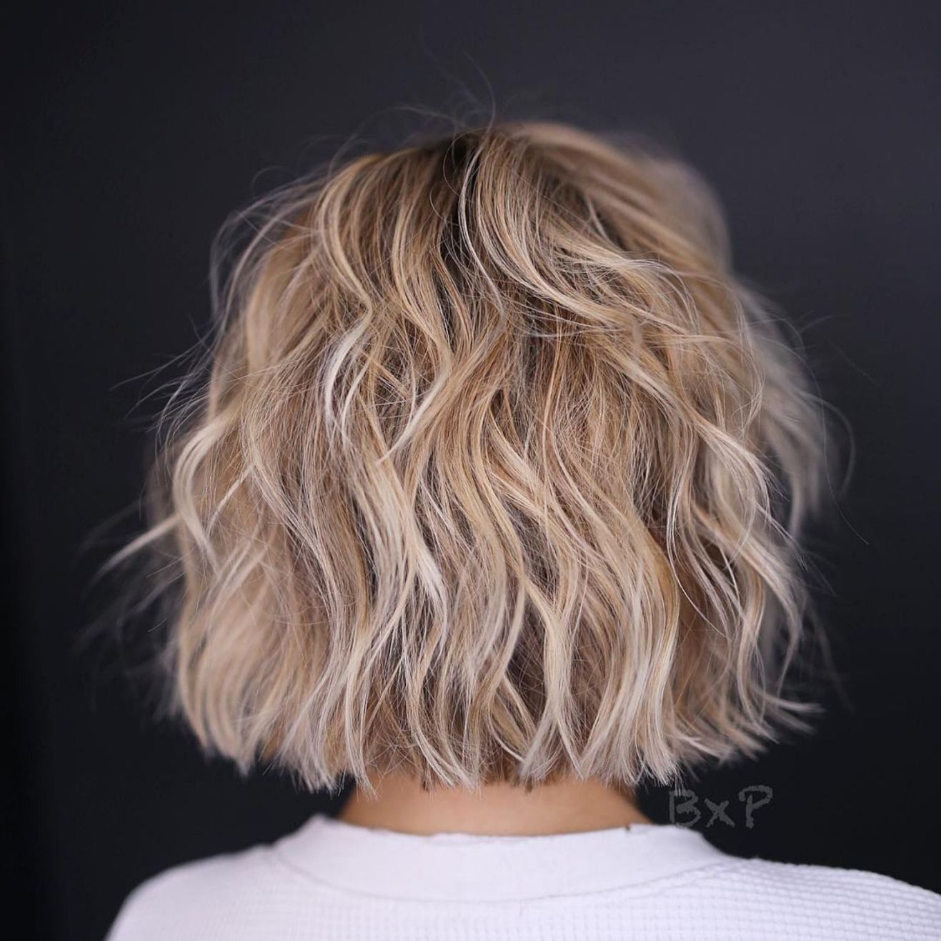 One Length Choppy Wavy Bob Thin Hair Haircuts Short Hair With Layers Haircuts For Fine Hair
