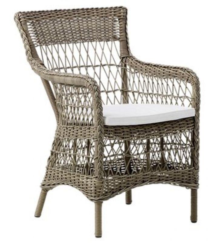 Der Sika Design Loom- Sessel Marie aus der Kollektion Georgia im ...