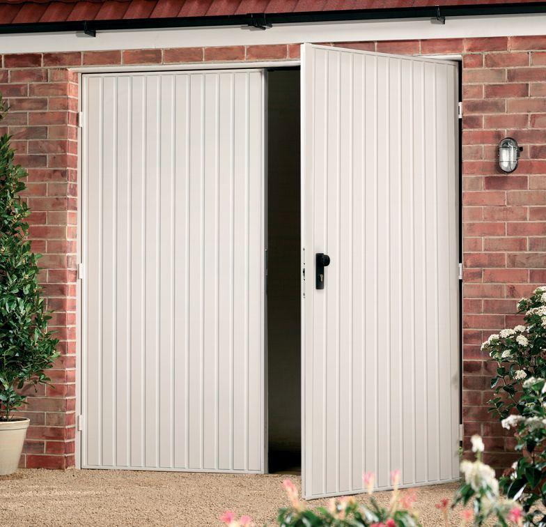 Garador Carlton-SH Side Hinged Garage Door | Our house | Pinterest ...