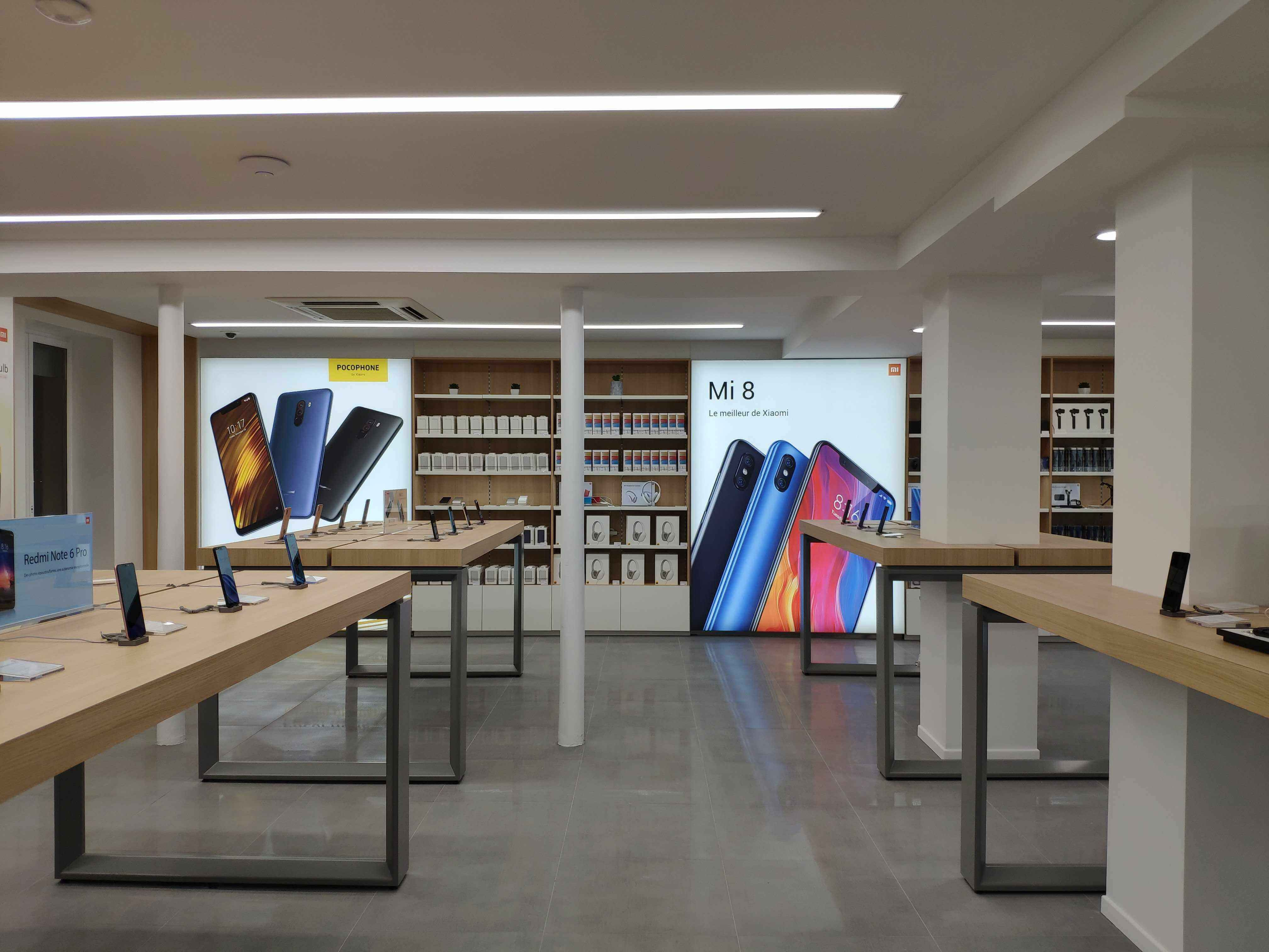 Xiaomi Opened Its Largest Store Mi Store In Europe