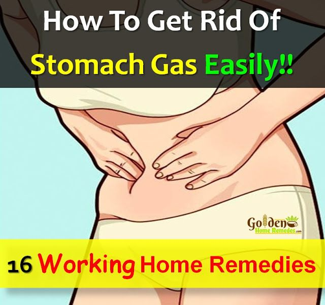 How To Get Rid Of Stomach Gas: 16 Effective Home Remedies For