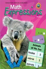 Math Expressions Math Expressions Student Activities First Grade Math Worksheets