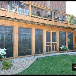 Photo Gallery Amazing Ez Screen Porch Windows House