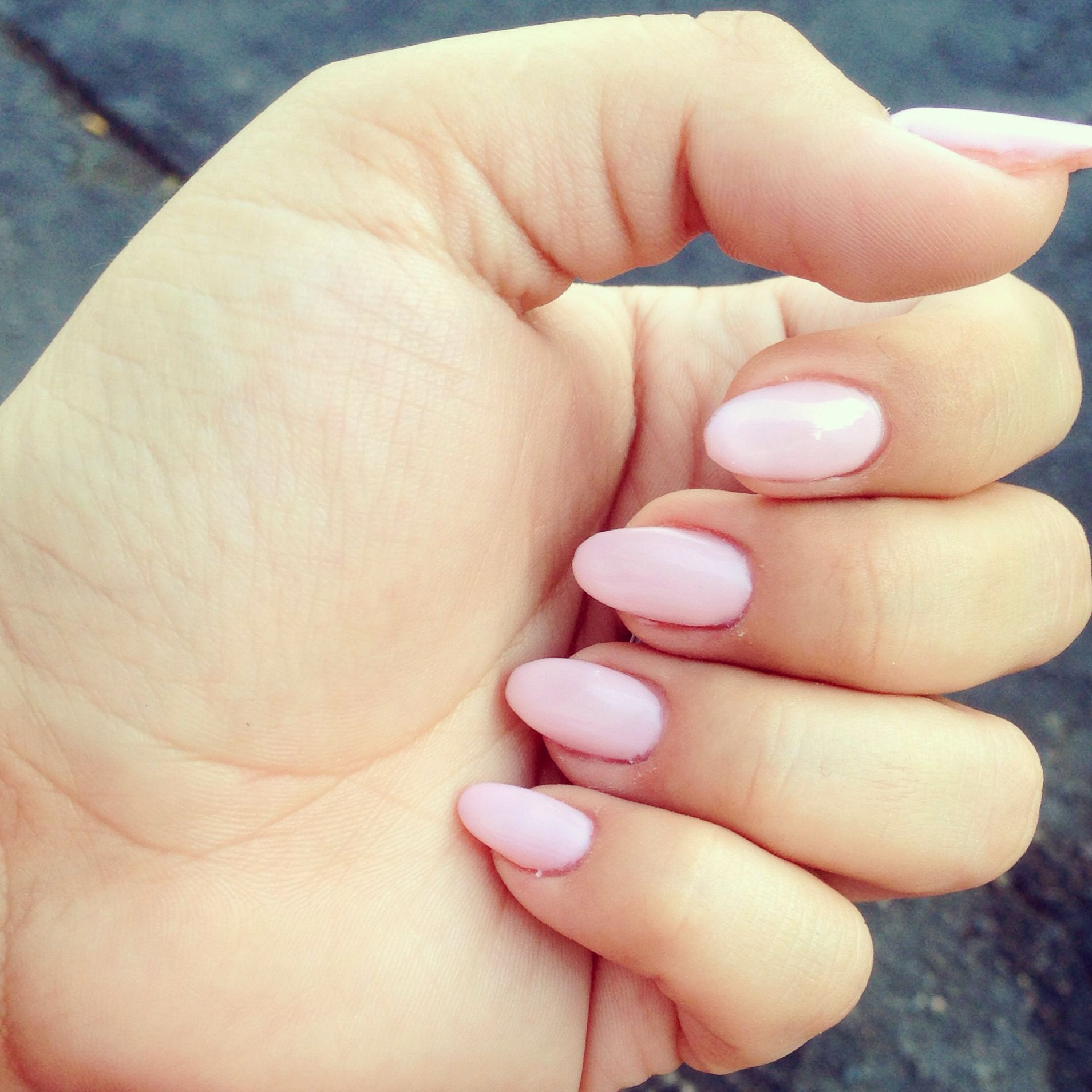 Modern Pastel Almond Nails Gallery - Nail Art Ideas - morihati.com