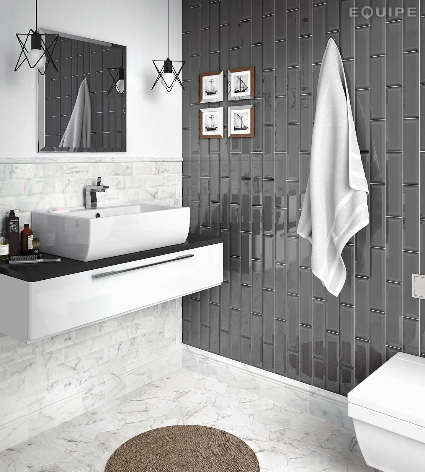 Coleccion Metro Grey Metro Tiles Bathroom Tile Bathroom Trendy Kitchen Tile