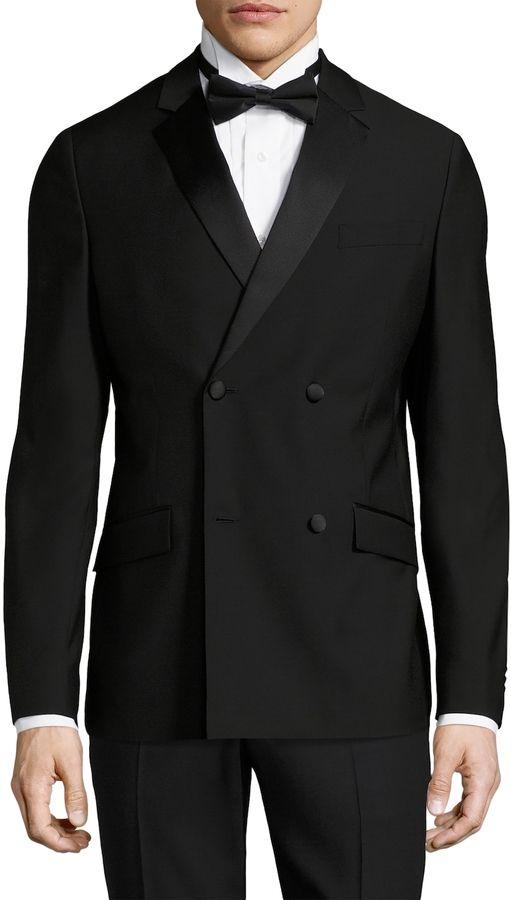 f3de8a661c83 Theory Men s Malcolm Marlin Wool Tuxedo Jacket