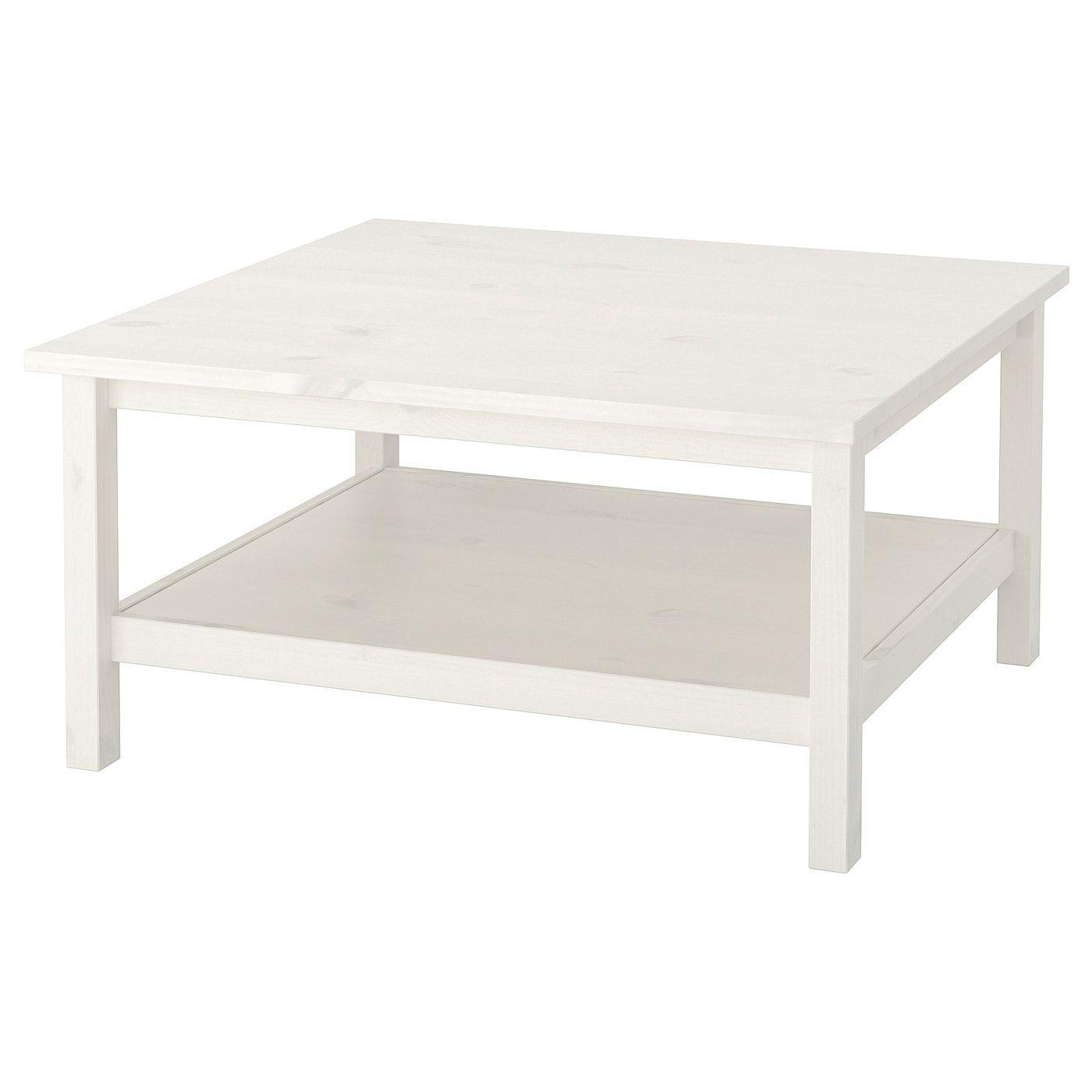 Hemnes Coffee Table White Stain White 35 3 8x35 3 8 Ikea In 2021 Ikea Hemnes Coffee Table Ikea White Side Table Coffee Table White [ 1400 x 1400 Pixel ]