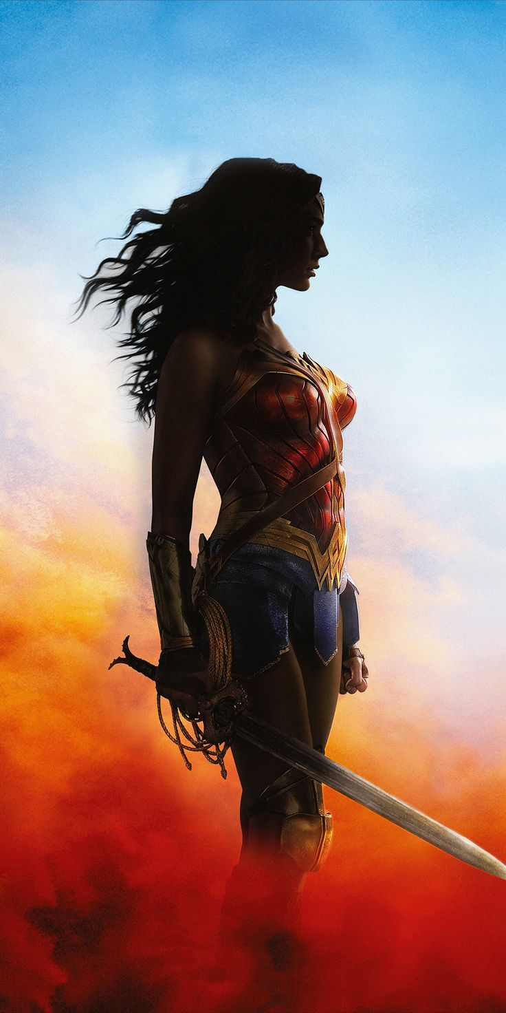aweinspiring wallpaper Wonder Woman, princess, 2018, 1080