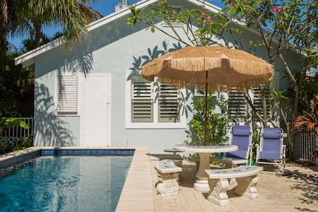 Check Out This Awesome Listing On Airbnb Tropical Beach Pool Guest House Houses For Lake Worthtropical