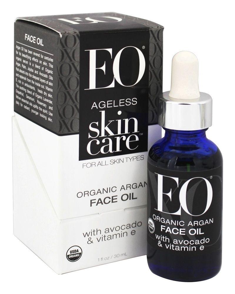 EO Ageless Skin Care Organic Argan Face Oil with Avocado