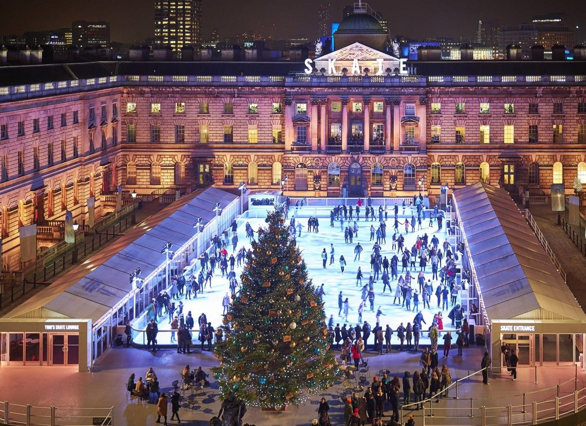 top 5 outdoor ice skating rinks in europe this christmas skating