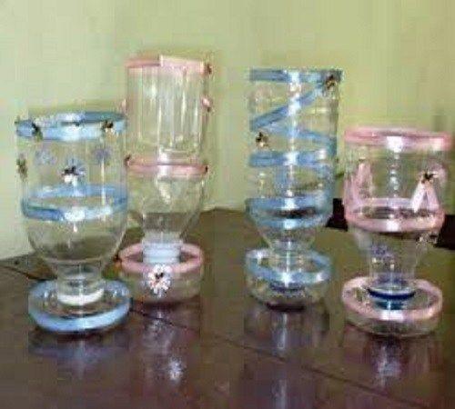 Cara Membuat Gelas Hias Dari Botol Kaca Dan Plastik Bekas Botol