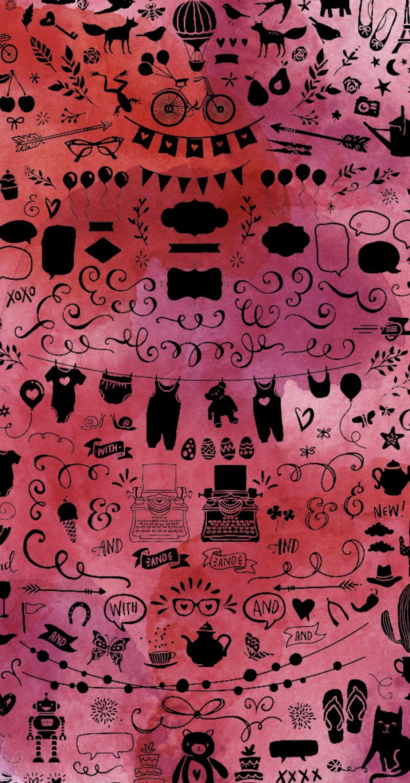 Doodle Phone Wallpaper Iskusstvo