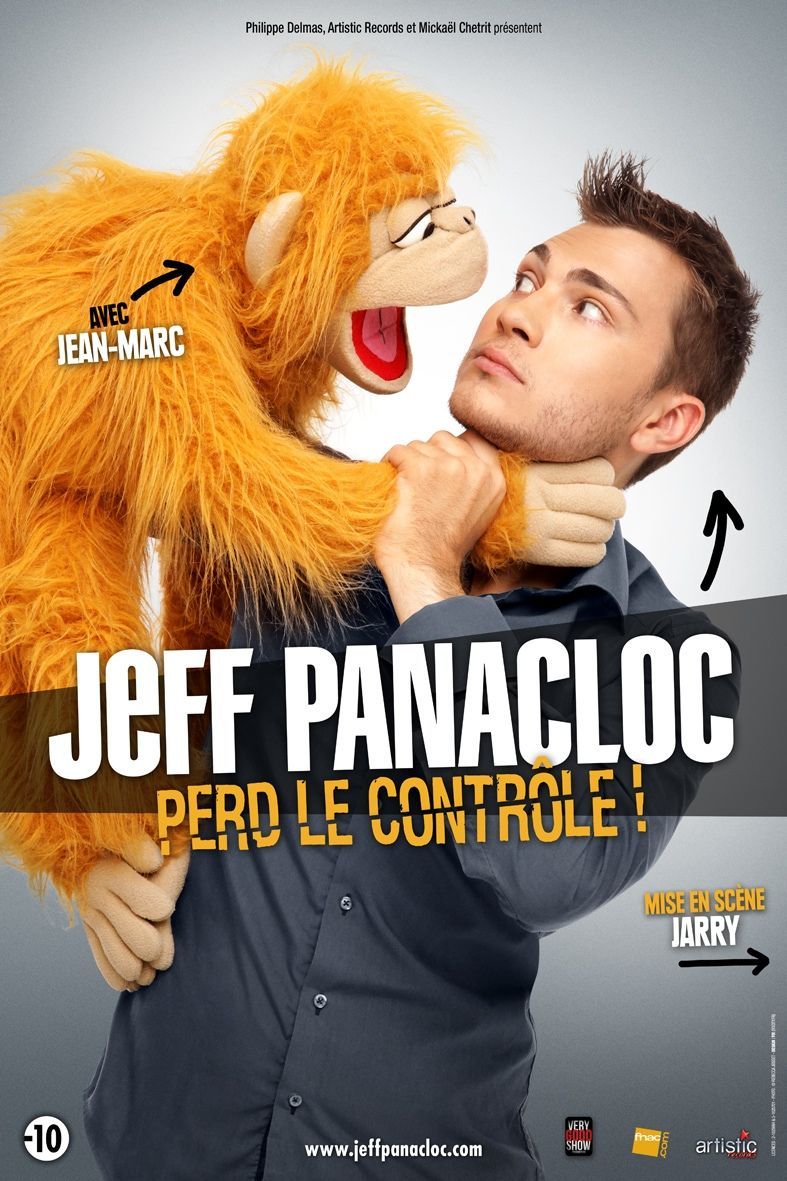 Jeudi 26 mars 2015 : Jeff Panacloc sur la scène de L'Acclameur | Niort