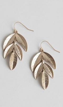 #gold leaf earrings http://rstyle.me/n/i89rmr9te