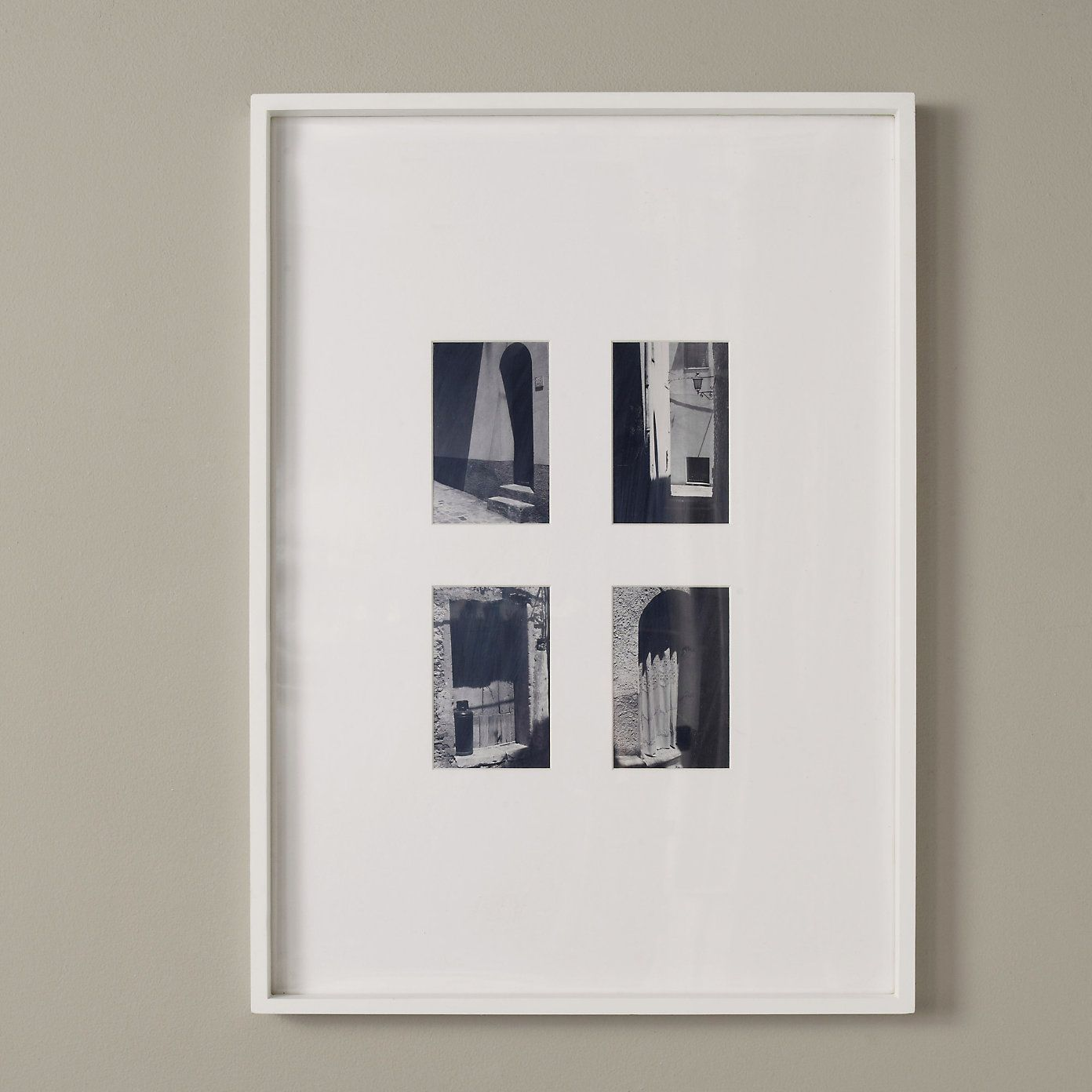 Photo Frames - White & Silver Picture Frames - The