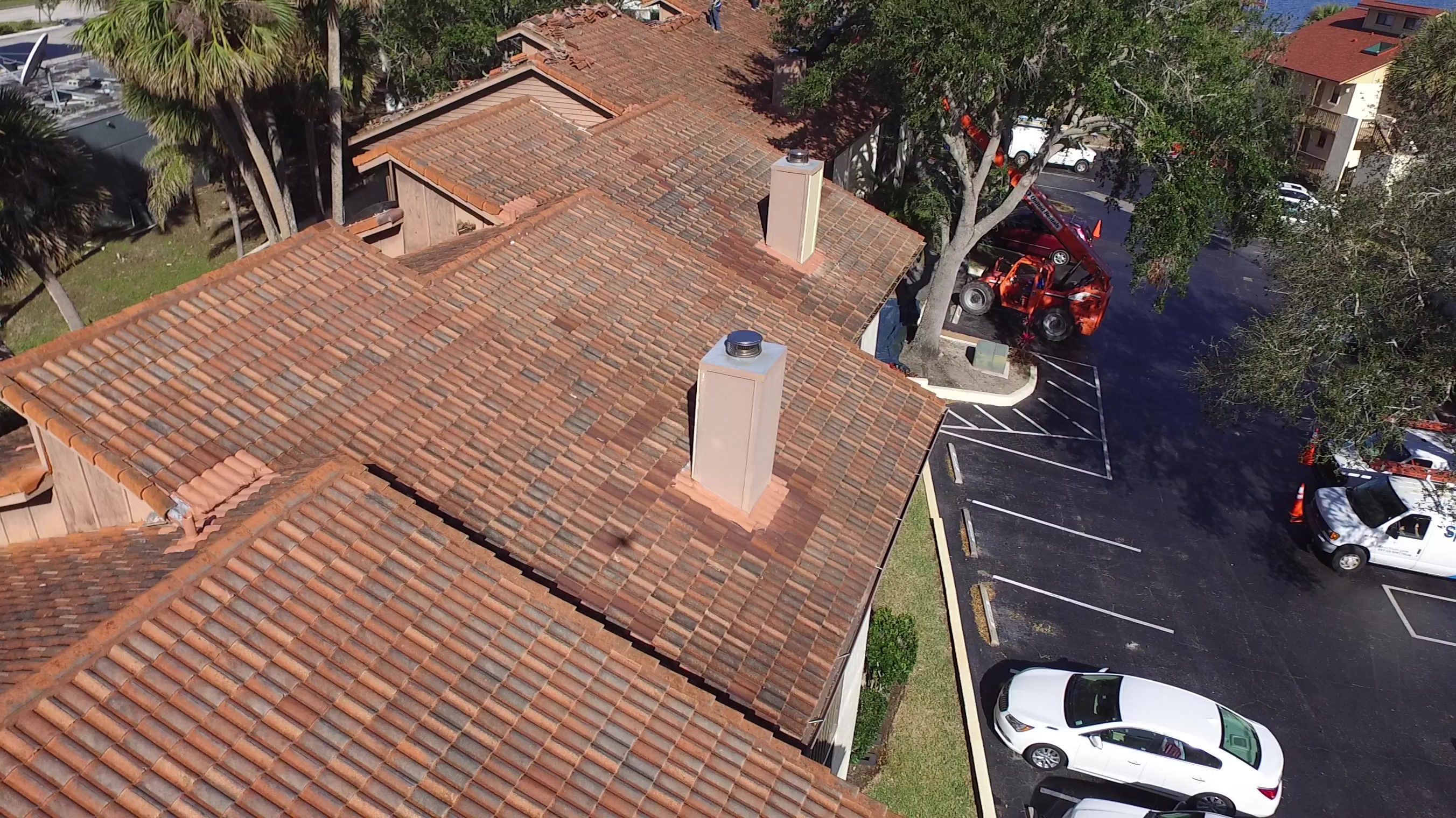 We Went From Tile To Shingles On These Condo S Residential Roofing Commercial Roofing Melbourne Florida
