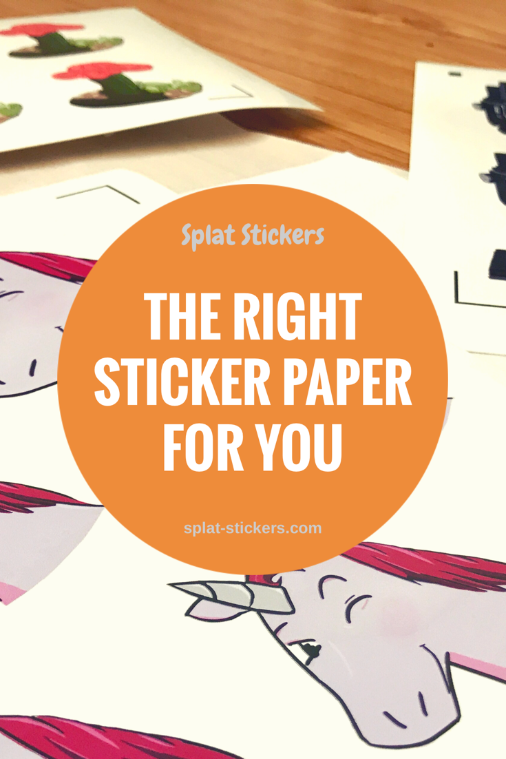 Since starting my sticker shop on etsy ive tried several different types of