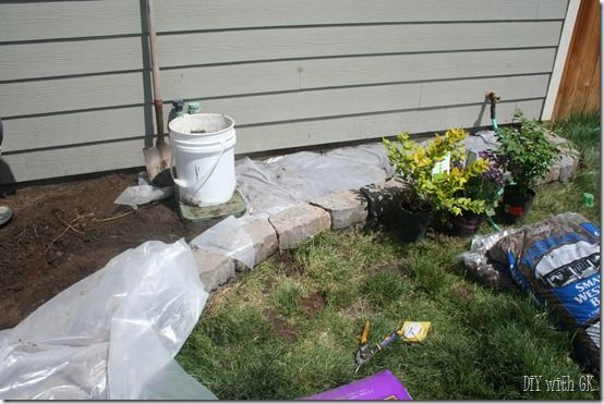 Low Maintenance Flower Bed Flower Beds Yard Project 640 x 480