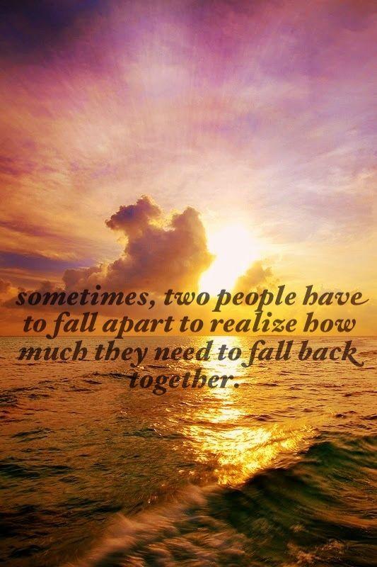 falling back together