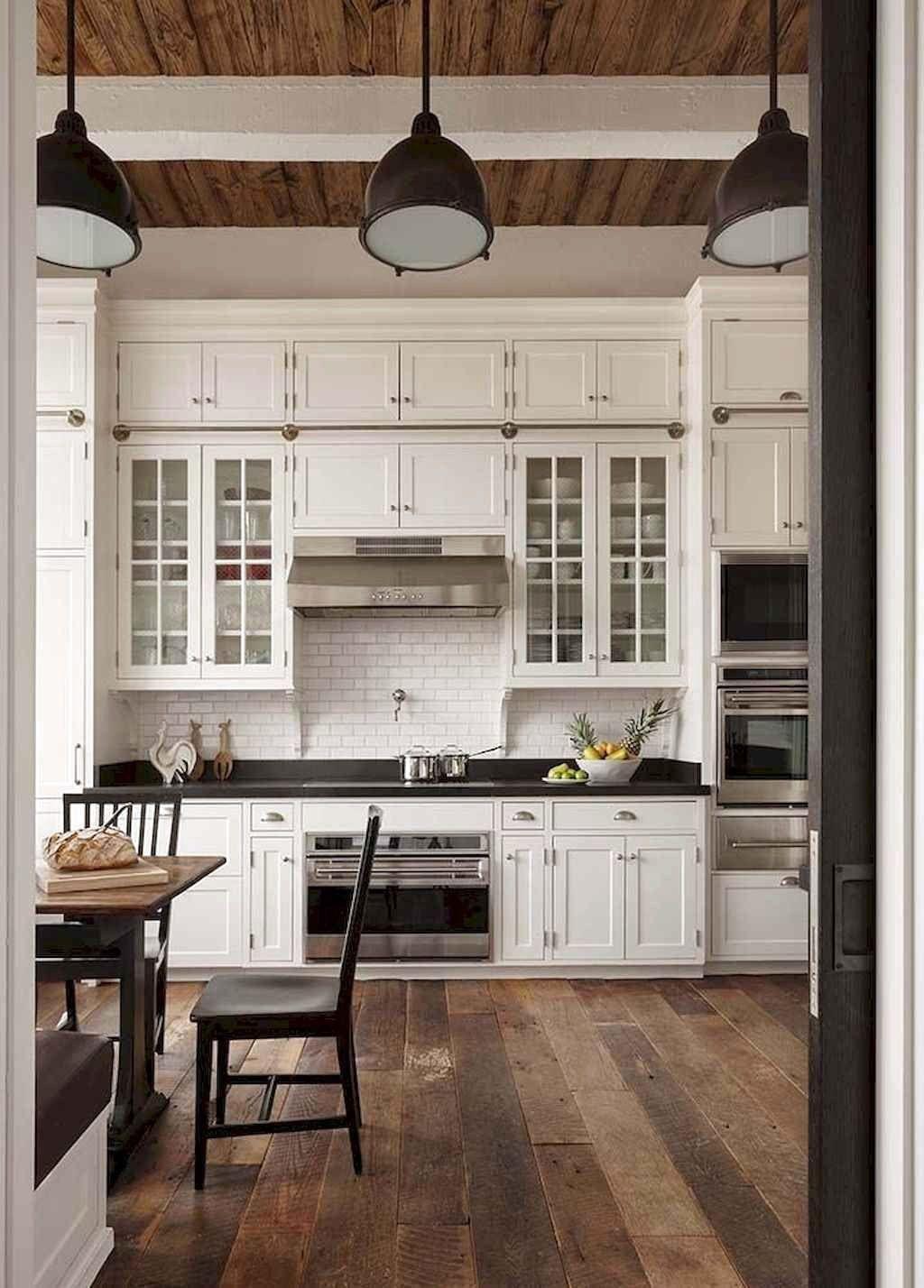 20+ Crative Farmhouse Kitchen Design Ideas For Fun Cooking To Try #farmhousekitchencolors