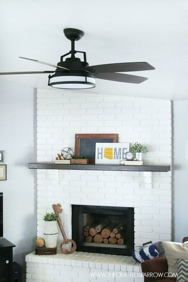How To Update Install A Ceiling Fan Home Decor Living Room Ceiling Fan Transitional Ceiling Fans