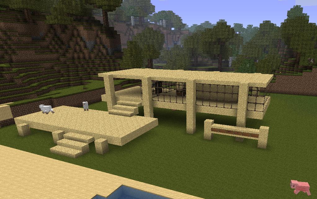 Minecraft Dog House Design Rumah Joglo Limasan Work