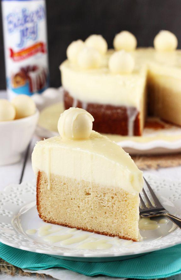 White Chocolate Truffle Cake | Recipe | Chocolate truffle cake ...