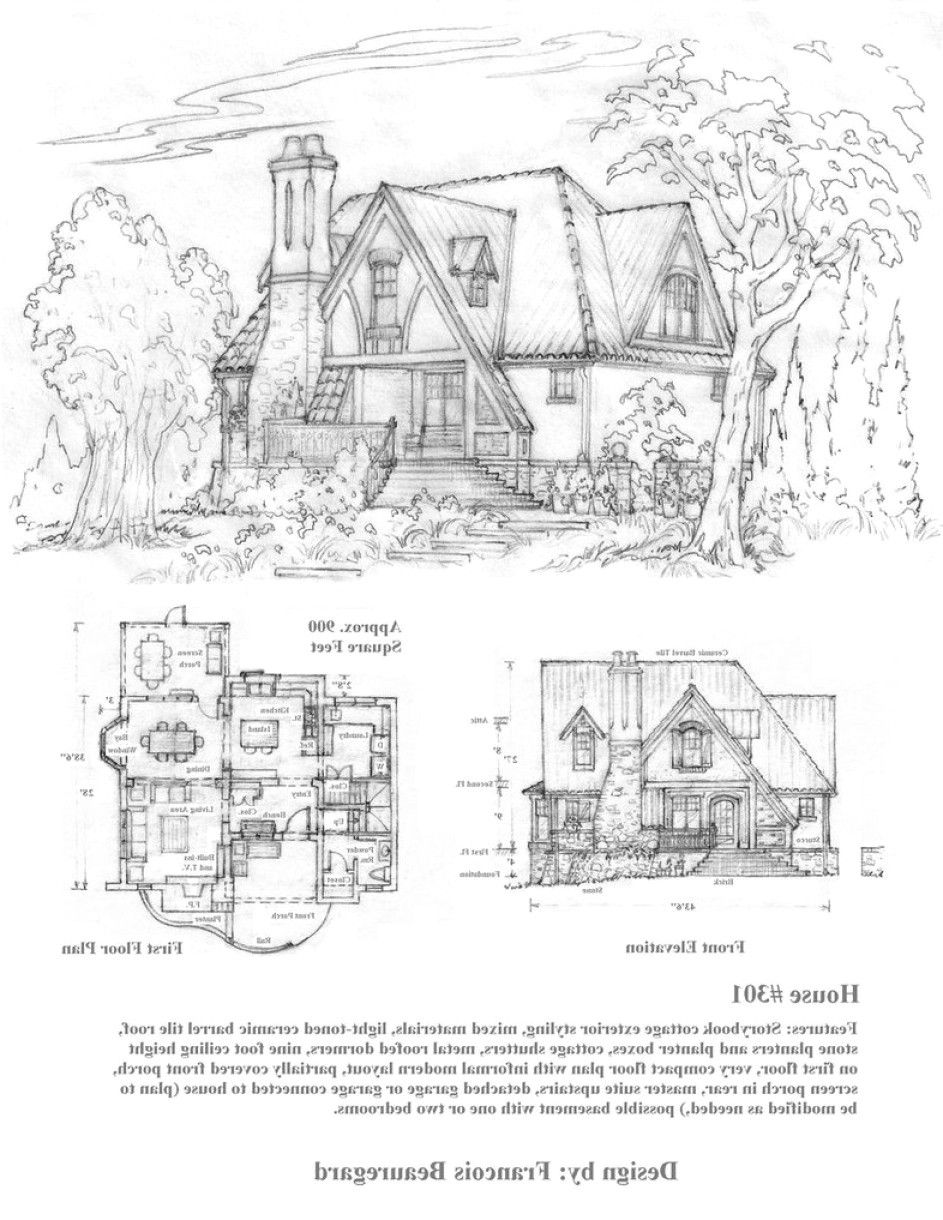 House Plan Storybook Cottage House Plans Free Luxury Storybook