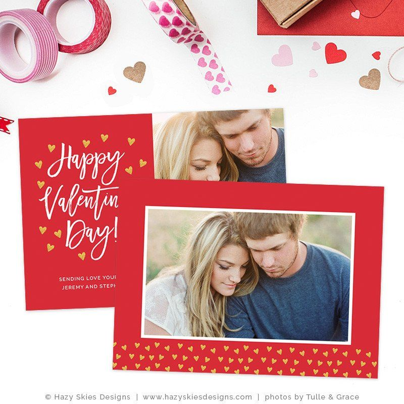 Valentine S Day Photoshop Template Lots Of Love Valentines Day Card Templates Holiday Card Template Valentine Card Template