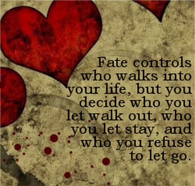 About fate and choice