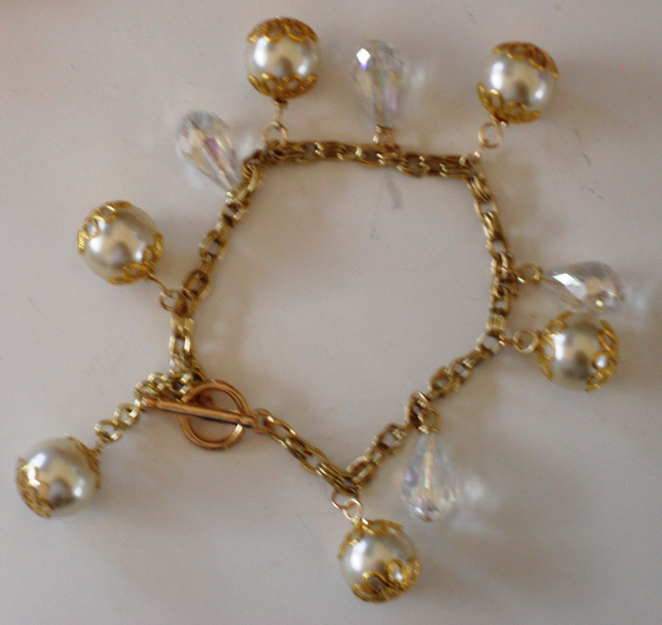 Perlas y cristales.