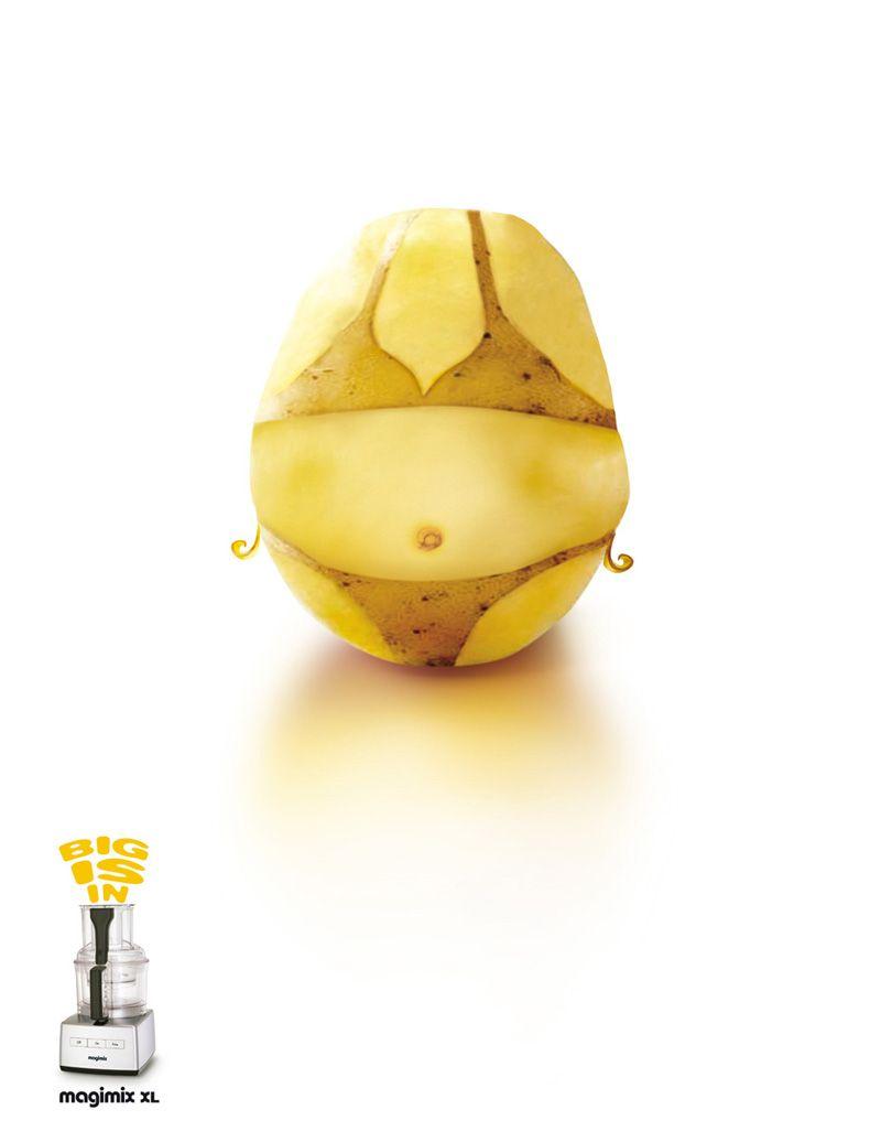 Summer potatoe vegetables graphic design pinterest