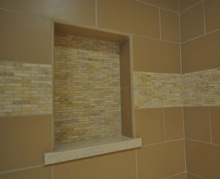 shower niche and mosaic ceiling question ceramic tile advice forums john bridge ceramic tile
