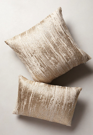 plaited metallic pillows http://rstyle.me/n/jj769pdpe