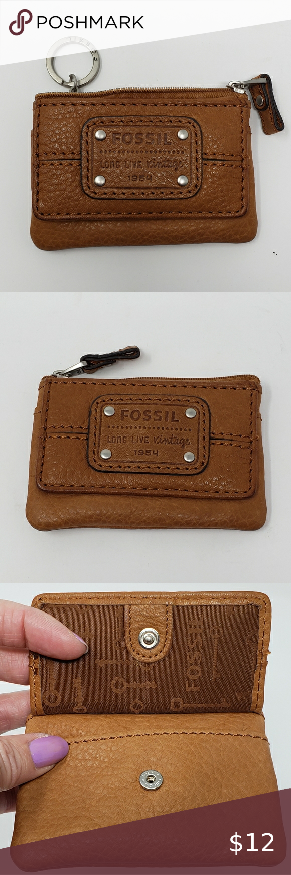 Fossil Small Key-Per ID Card Holder