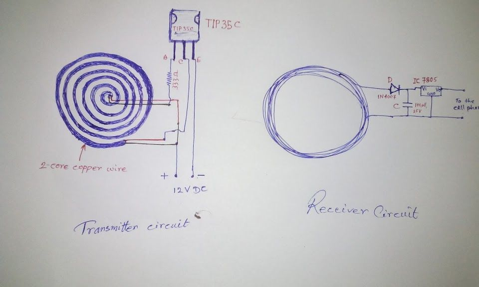 in this post we will try to wireless cellphone charger circuit for in this post we learn how to make a simple wireless cellphone charger circuit using the concept of wireless power transfer