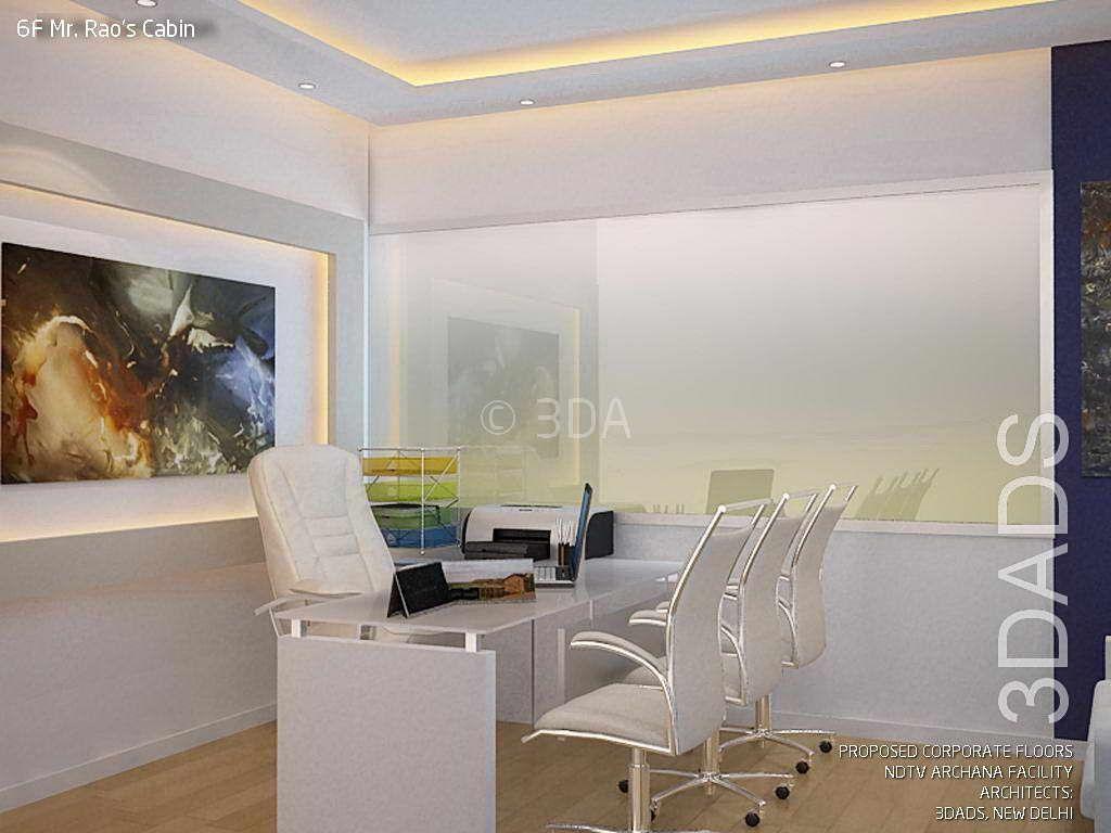 Modern Office Director Cabin Interior Design By 3da Best