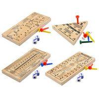 Wooden Travel Peg Games