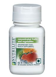 Nutrilite Concentrated Fruits Vegetables The Power Of