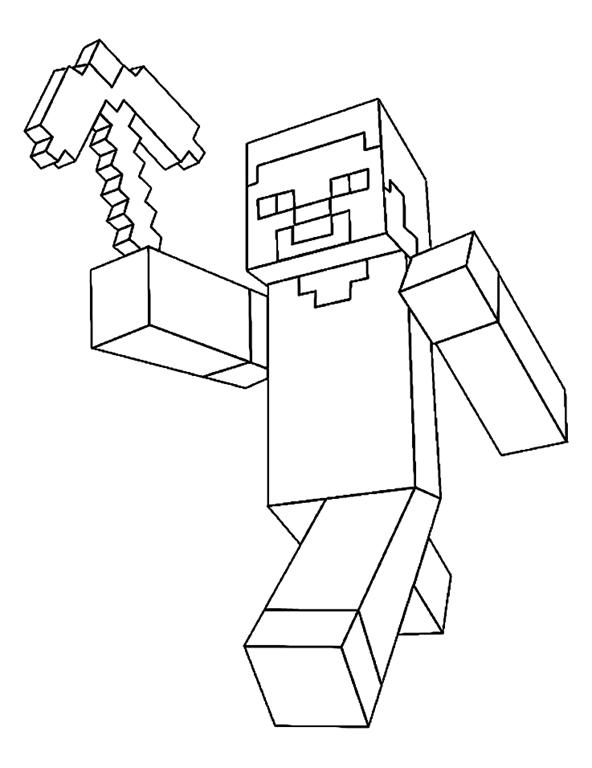 desenhos para colorir desenhos para pintar e imprimir minecraft