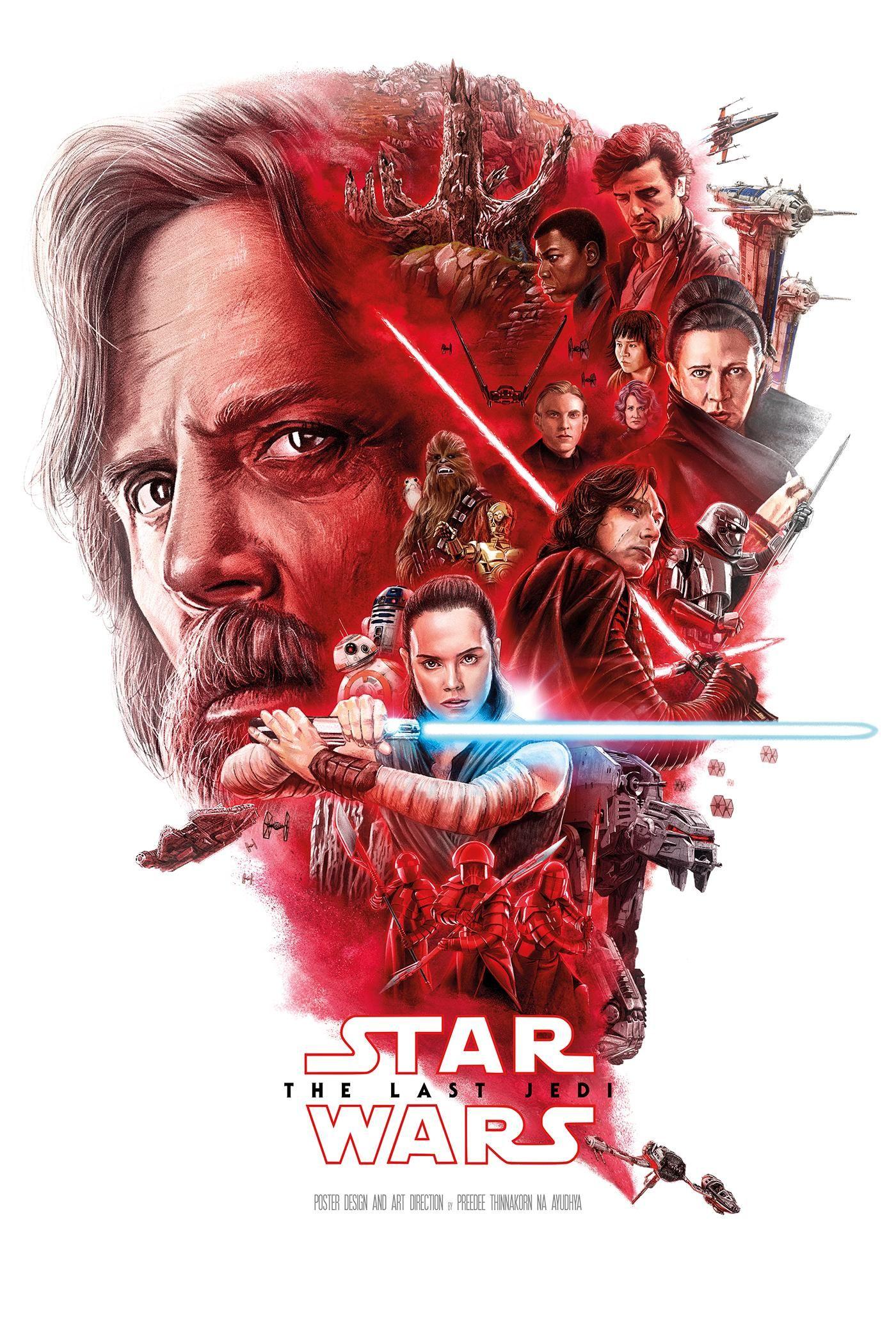 Star Wars Episode Viii The Last Jedi 2017 1400 X 2087 Star Wars Poster Star Wars Villains Star Wars Drawings