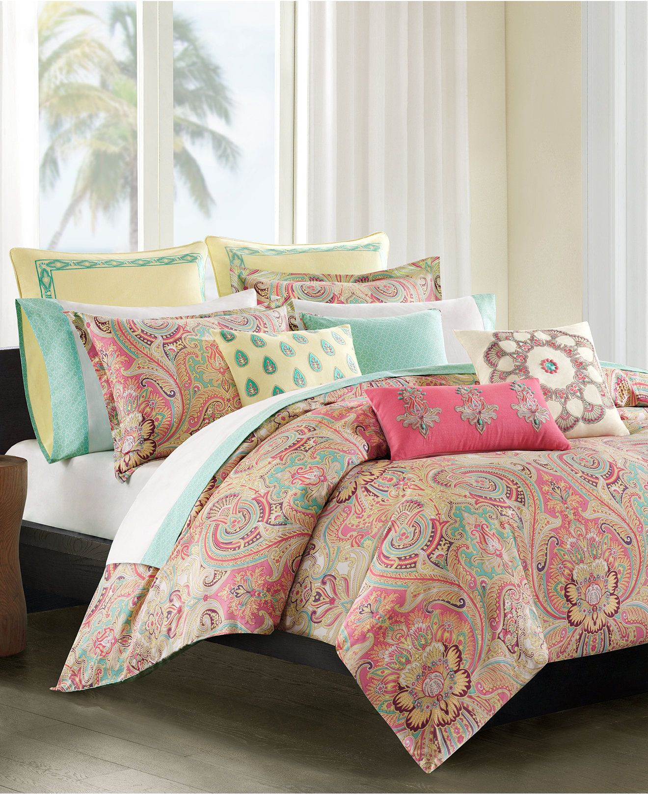 Echo Guinevere Twin Sheet Set - Bedding Collections - Bed ...