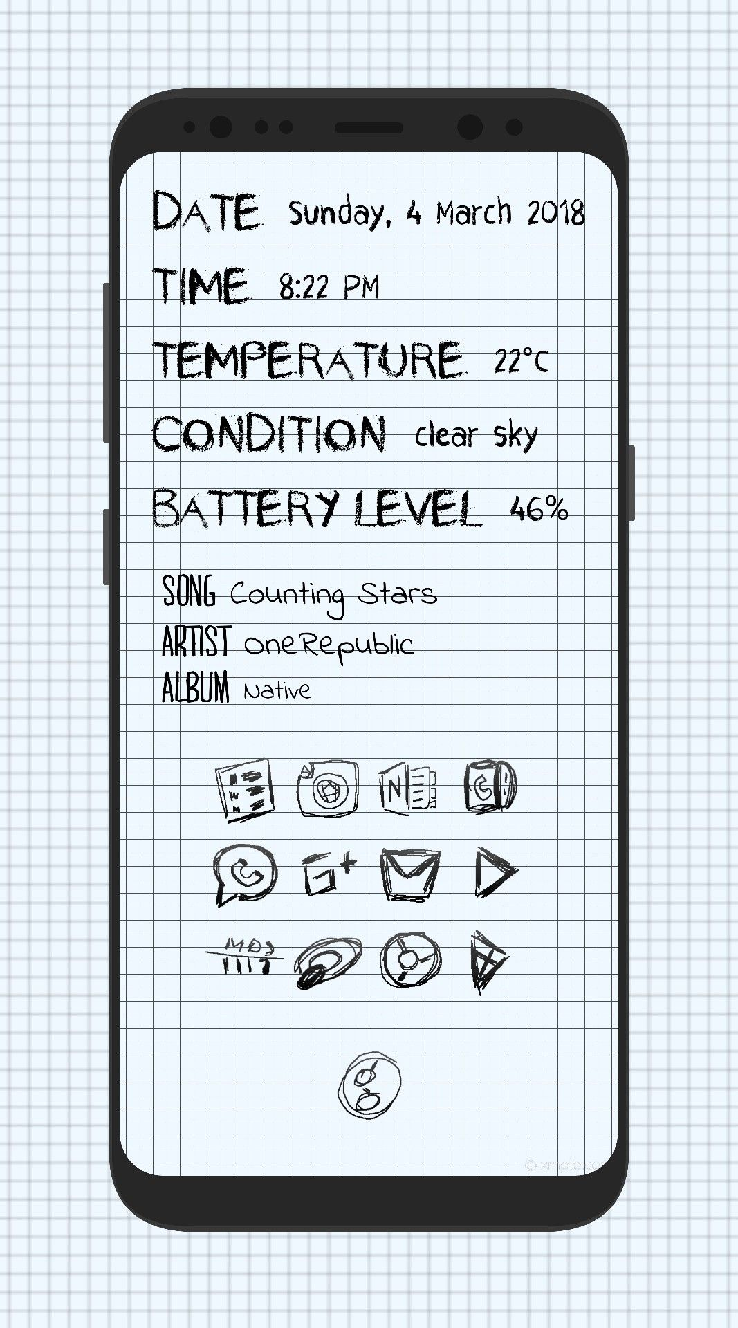 Pin by Ali AlRasheed on Nova Launcher Setup Homescreen