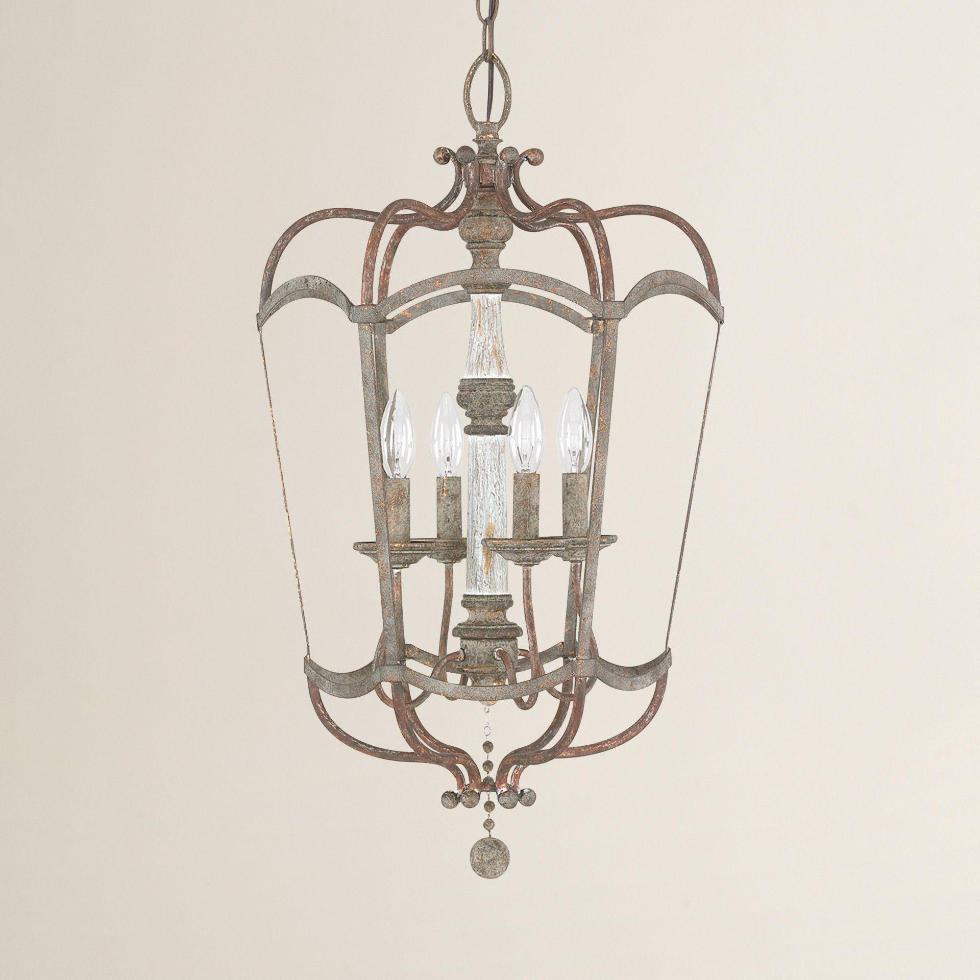 Amazon Com Progress Lighting P3701 09 1 Light Bay Court: Lark Manor Amelia 4-Light Foyer Pendant
