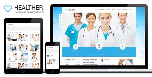 Healther - Medical & Health WordPress Theme
