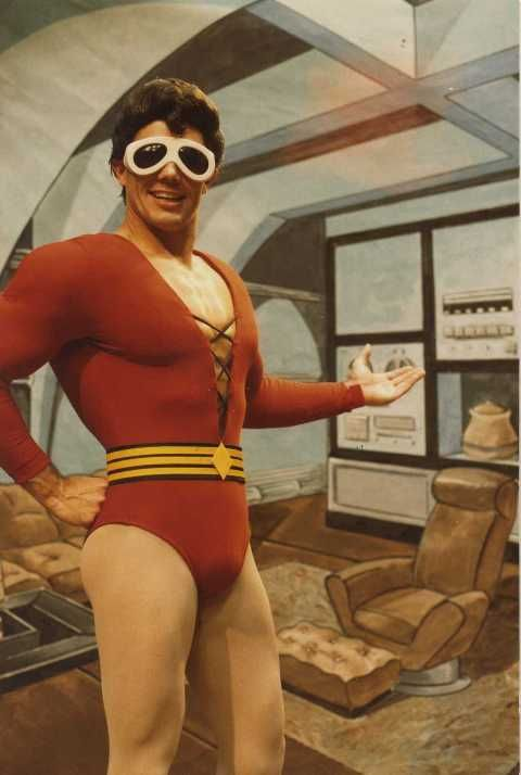 Mark C  Taylor As Plastic Man  1984   Adventure Show Is An Animated